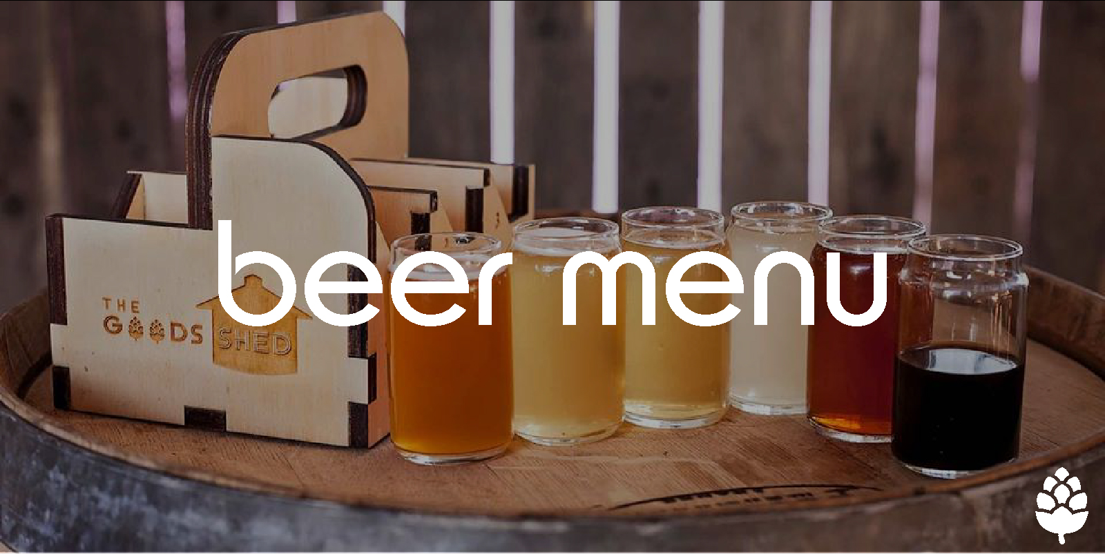 Beer Menu at The Goods Shed Wodonga, Restaurant + Bar